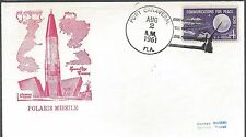 8/2/61  Polaris Missile Launch at Canaveral, Gold Craft Cover
