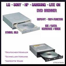 DVD BRENNER / LAUFWERK SATA oder IDE von LG - HP - LITE ON - SAMSUNG - SONY