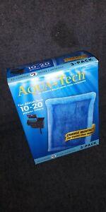 AQUA-Tech EZ-Change Aquarium Filter Cartridge (PL-T133-06) 3 Pack