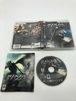 Sony PlayStation 3 PS3 CIB Complete Tested Ninja Gaiden Sigma 2