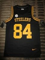 Antonio Brown #84 Pittsburgh Steelers Nike NFL Jersey SM S mens NEW