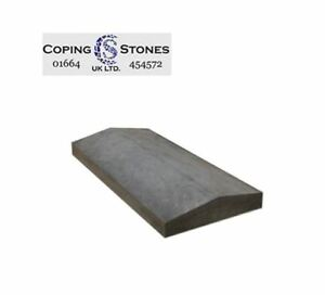 Coping Stones - 600mm x 300mm Twice Weathered (75-50mm) Various Colour Available