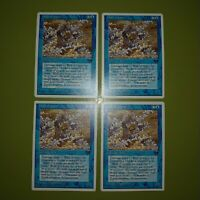 Wall of Vapor x4 Chronicles 4x Playset Magic the Gathering MTG