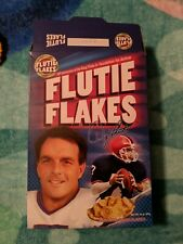 20th Anniversary Flutie Flakes Empty Cereal Box
