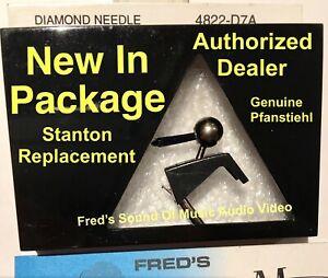 STANTON 681 Genuine Replacement DIAMOND Needle Cartridge Stylus 4822D7A w/ Brush