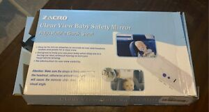 Zacro Clear View Baby Safety Mirror Adjustable Back Seat