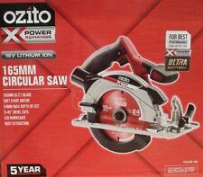 Ozito Power X Change 18V 165mm Cordless Circular Saw LED Dust Port - Skin Only