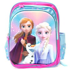 Large 4D Kids Children Girls Disney Frozen Backpack School Bags 30x40cm