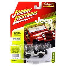 JOHNNY LIGHTNING JLCP7110 B JEEP CJ-5 1/64 DIECAST QUICK SILVER POLY