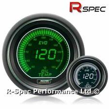 GENUINE Prosport 52mm Evo Green White Display LCD Digital Oil Temperature Gauge
