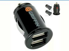 dual twin port USB 12v 2.1A universal car cigarette lighter charger Iphone 7,6,5