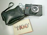 Vintage Ansco 1100 35mm Film Camera Original Chain Strap Case & Instructions