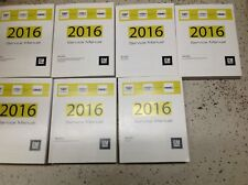 2016 Escalade GMC Yukon Chevy Suburban Tahoe Service Shop Repair Manual SET NEW