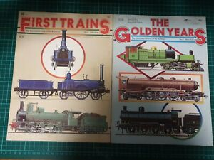 The Illustrated History Of The Railway. No.1 & 2. Cover Brisith Railways...