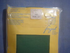 Fogal Style 173 Wool/Nylon Opaque Pantyhose Size S in Vert Green