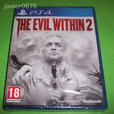 THE EVIL WITHIN 2 NUEVO Y PRECINTADO PAL ESPAÑA PLAYSTATION 4 PS4