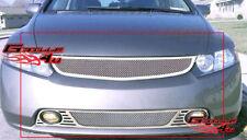 06-08 Honda Civic Sedan 4 Door Stainless Steel Mesh Grille Grill Combo Insert