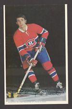 1971-72  MONTREAL CANADIENS POSTCARDS  PHIL ROBERTO   INV  J7370