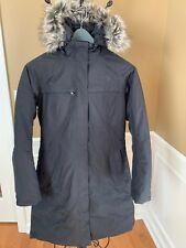 Womens The North Face TNF Arctic Down Parka Warm Winter Jacket - Black - Medium