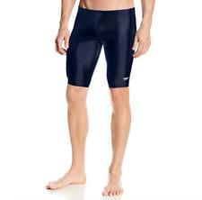 Speedo Men's and Boys' Jammer Swimsuit-Pro LT, Navy, 32