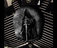 Harley Davidson Custom Horn cover Touring Dyna Softail Sportster M8 REAPER
