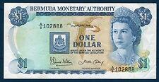 BERMUDES - 1 DOLLAR Pick n° 23.a du 1er janvier 1986 en TTB A/8 102888