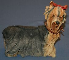 "A Breed Apart #70012 Yorkshire Terrier Statue 6"" x 6"" x 2 1/2"" Dog Yorkie Sparky"