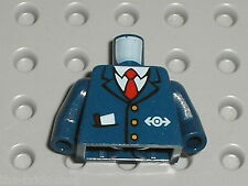 Buste Personnage Lego TRAIN  minifig torso Set 4855 Spider-Man's Train Rescue