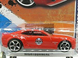 HOT WHEELS VHTF 2011 NIGHTBURNERZ SERIES CHEVY CAMARO 2010 INDY 500 PACE CAR