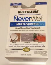 New Never Wet Rust-Oleum 18 oz. NeverWet Multi-Purpose Spray Kit  FROSTED CLEAR
