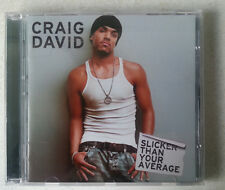 "CRAIG DAVID - ""Slicker Than Your Average"" CD 2000 2000s album pop"