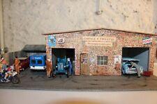 garage, diorama multimarque fait maison pour vos miniatures 1/43