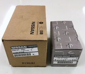 New OEM Infiniti QX56 QX80 Factory Front & Rear Brake Pads 2011+