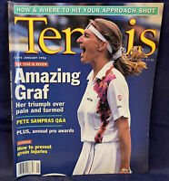 VTG Tennis Magazine Steffi Graf January 1996 Pete Sampras Year in Review
