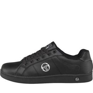 Sergio Tacchini Prince Lace Juniors Sizes 3-6 Black RRP £40 Brand New Last Few