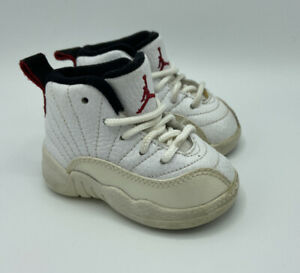 Nike Air Jordan XII 12 Rising Sun 2009 Retro TD Toddler 850000-163 Size 3C