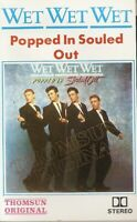 Wet Wet Wet – Popped In Souled Out . music cassette. Import