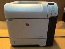 HP LaserJet M601N M601 N A4 Desktop Mono Network Ready Laser Printer + Warranty