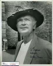 Buddy Ebsen JSA Coa Signed 8x10 Beverly Hillbillies Photo Autograph
