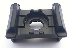 50x Kunststoffblock Anthrazit Doppelstabmattenzaun f. Pfosten 40x60 Auflagebock