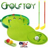 Kids Golf Club Set Kit Indoor Outdoor Sports Toys Games Boys Girls Golfer Gifts