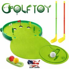 Kids Golf Club Set Kit Indoor Outdoor Sports Toys Games Boys Girls Golfer Gifts