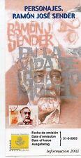 España Personajes Ramon J Sender año 2003 (DL-892)