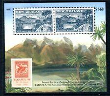 1998 New Zealand - Centenary of 1898 Pictorials MUH TARAPEX Mini Sheet