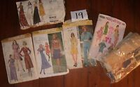 VINTAGE SEWING PATTERN Women  size 12-14  Simplicity  1970's  Vogue  1972  #3181
