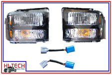 NEW 05 06 07 FORD F250 F350 SUPER DUTY HD STYLE HEADLIGHT KIT 5C3Z13008DA
