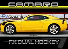 2010 - 2019 Chevrolet Camaro Dual Hockey Side Stripe Kit #1 Quality Stripes FX