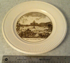 Wedgwood China Plate Piazza Di San Pietro Scenes from italy