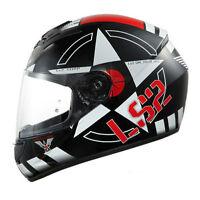 LS2 FF351 CORPS Motorbike Motorcycle Bike Scooter Full Face EC Approved Helmet