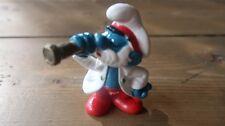 Vintage Smurf Figure- Papa Smurf Sea Captain- 1981